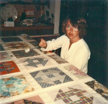 Louise quilting